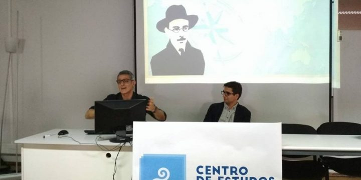Carlos Quiroga apresenta «Raízes de Pessoa na Galiza»