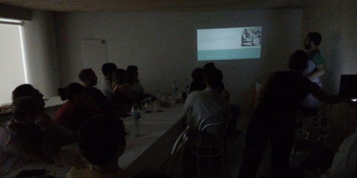 David Fontán apresenta a sua investigación sobre a resistência na freguesia galega das Encrovas